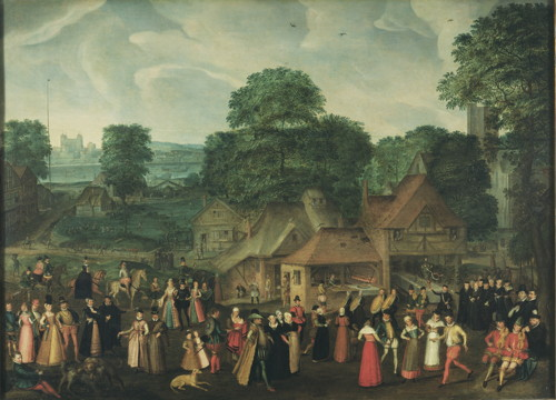 'Fete at Bermondsey' painting goes on show at National Portrait Gallery