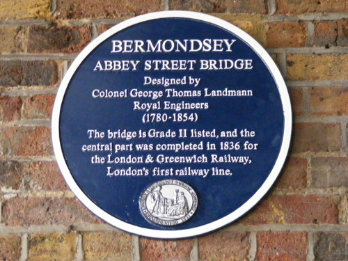 Abbey Street railway bridge