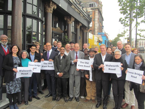 Theo Paphitis launches Lib Dem plan for Southwark's high streets