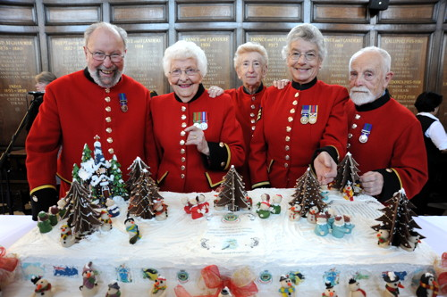 National Bakery School creates giant cake for Chelsea Pensioners