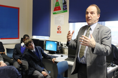 Simon Hughes invites young social entrepreneurs to Parliament