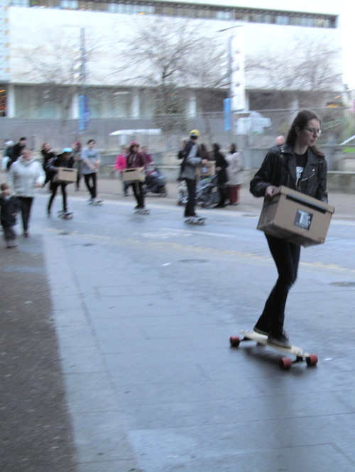 Boris: South Bank skateboarders should stay in QEH undercroft