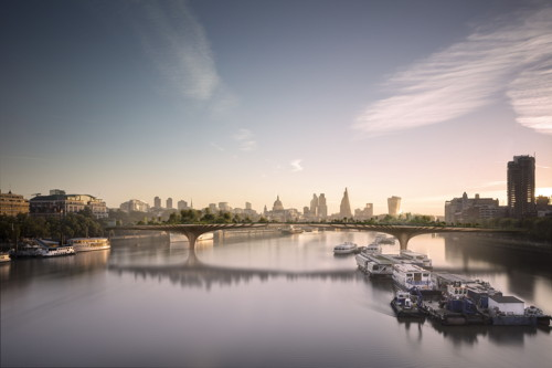 Garden Bridge: public sector to meet 40 per cent of cost