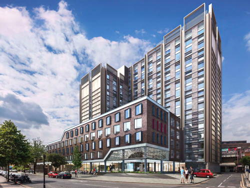 Hercules House: ex-Government offices to become 438-room hotel