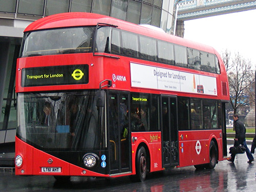 No open platform when 'New Routemaster' buses come south of river