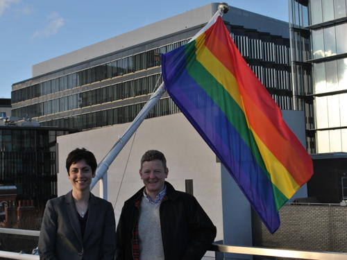 Southwark flies rainbow flag for LGBT History Month