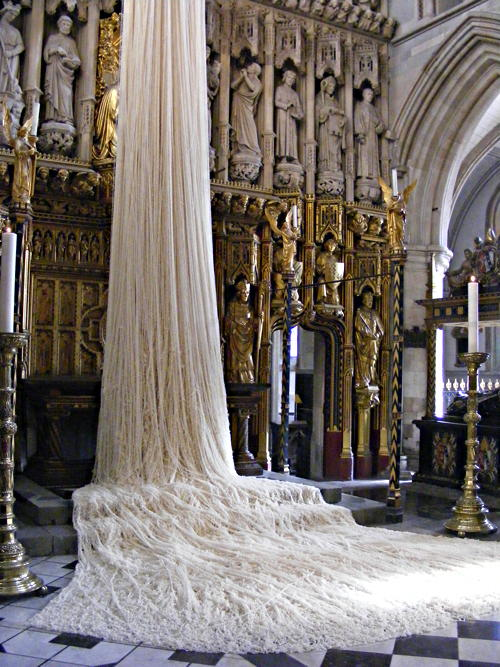 Southwark Cathedral hosts art installations during Lent
