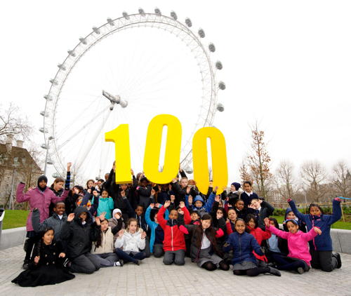SE1 kids enjoy free visits to London Eye and London Aquarium
