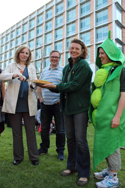 BOST celebrates Sumner Street Garden and Bankside food-growing