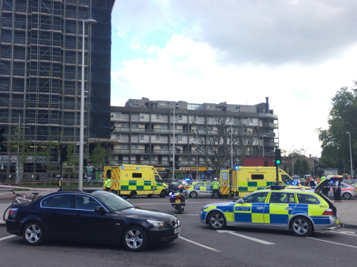 Cyclist killed in Elephant & Castle lorry collision