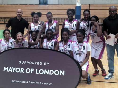 Bermondsey girls are London basketball champions