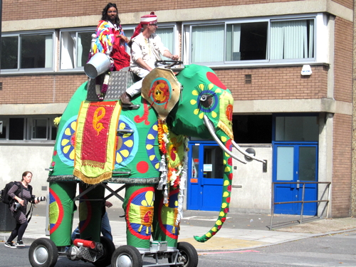 Mechanical elephant heralds season of Blackfriars Stories