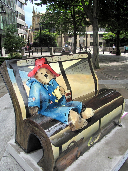 BookBenches appear around Bankside and London Bridge