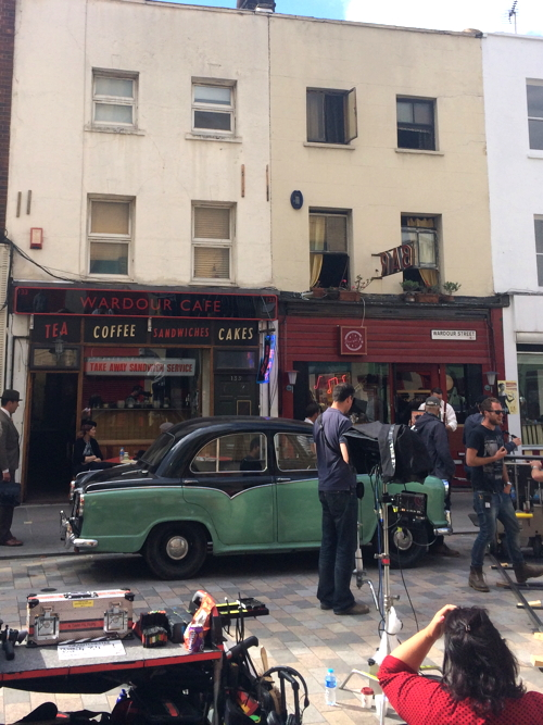 Lower Marsh turned into 1950s Soho for Grantchester ITV drama