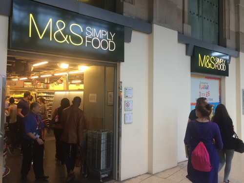M&S shuts Simply Food store at Waterloo Station