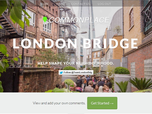 Help to shape a new 'action plan' for  London Bridge