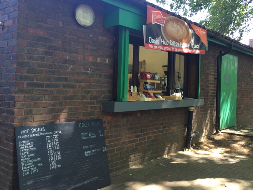 Pop-up cafe now open for summer at Archbishop's Park