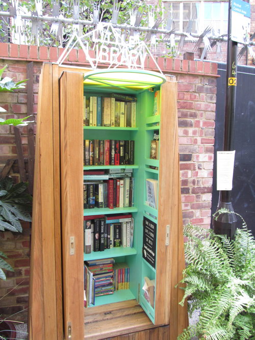 Book exchange opens in hidden London Bridge garden