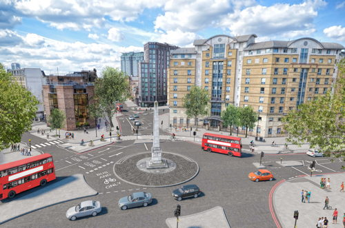 Segregated cycle track on Blackfriars Road: consultation launched