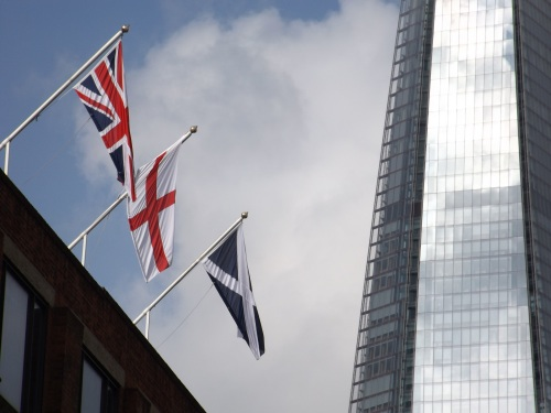 Southwark flies Scottish flag to support Better Together