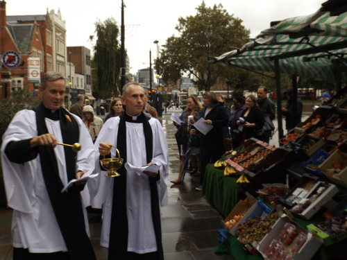 Harvest festival celebrated in Lower Marsh
