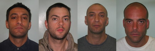 Chris Foster: four men jailed over 'mistaken identity' killing