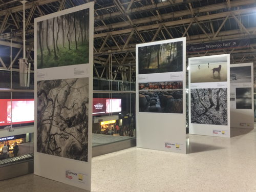 Waterloo Station hosts landscape photography exhibition
