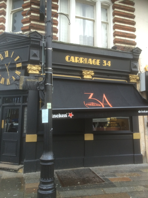 Police shut down Carriage 34 bar in Lower Marsh after stabbing