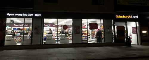 Sainsbury's Local opens in Long Lane - chain's 10th SE1 branch