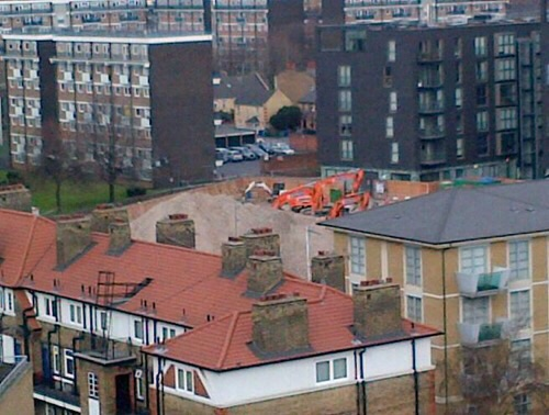 Unexploded bomb found on Bermondsey building site