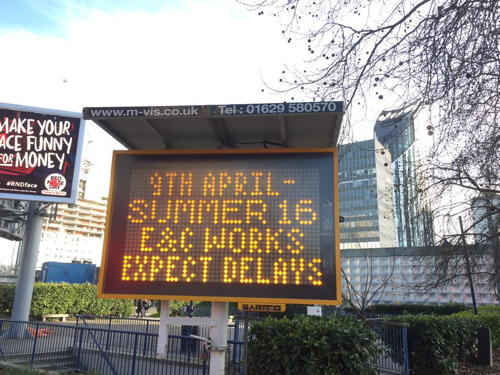 Work begins on removal of Elephant & Castle roundabout