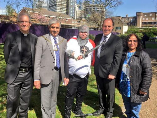 St George's Day celebrated in Southwark