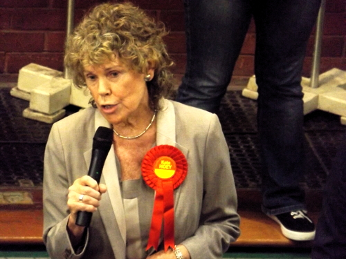 Kate Hoey re-elected as Vauxhall MP