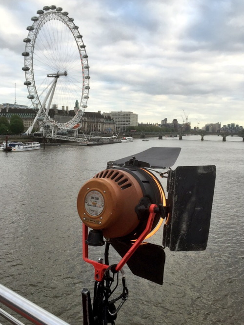 More filming for James Bond Spectre movie on River Thames
