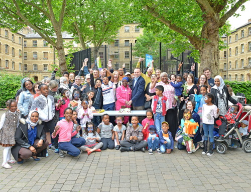 Blackfriars Estate fun day