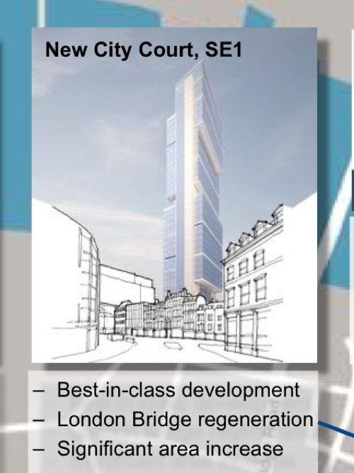New skyscraper planned close to the Shard