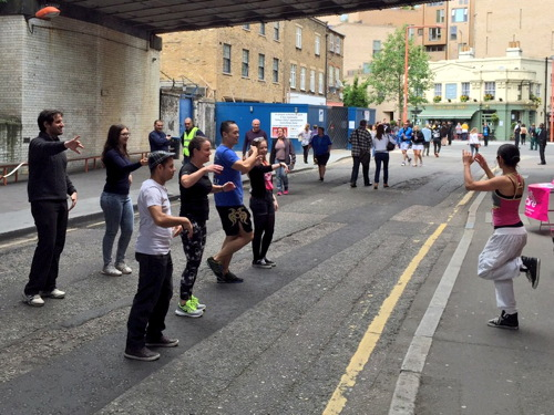 In pictures: Open Streets London in Great Suffolk Street