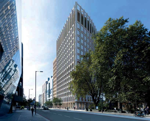 Green light for 16-storey Hoxton Hotel in Blackfriars Road