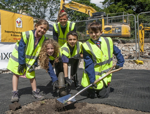 Jeff Brazier breaks ground at new Ronald McDonald House