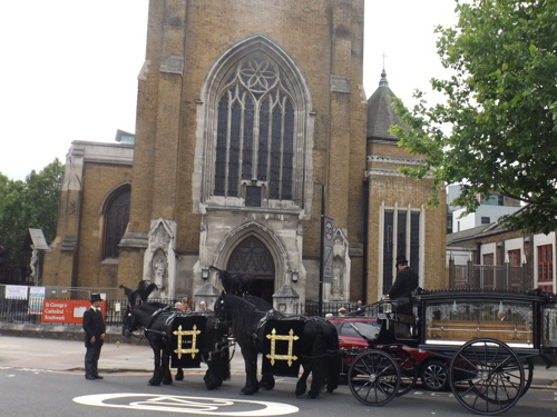 Requiem Mass for Barry Albin-Dyer at St George's Cathedral