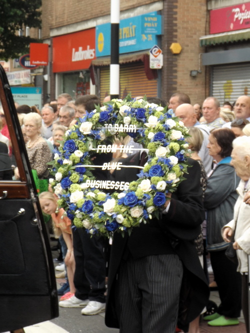 Hundreds turn out for funeral of Barry Albin-Dyer