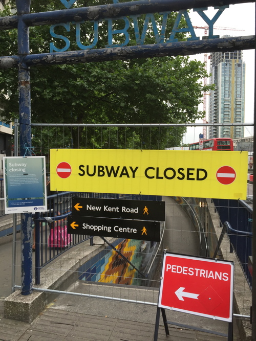 End of an era as three more Elephant & Castle subways close