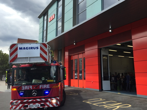 Official opening for Old Kent Road Fire Station