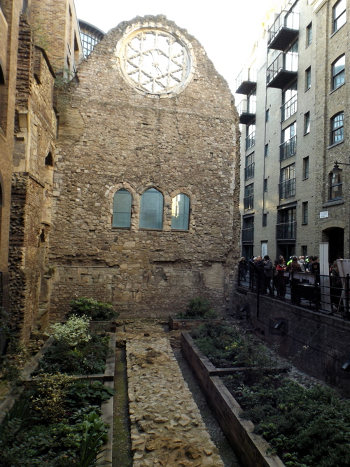 Winchester Palace: a new garden for Clink Street