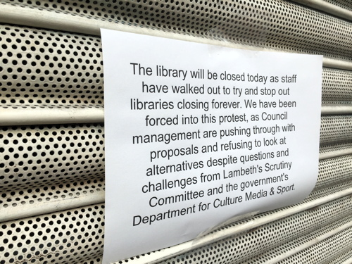 Waterloo Library staff stage walkout over closure plans