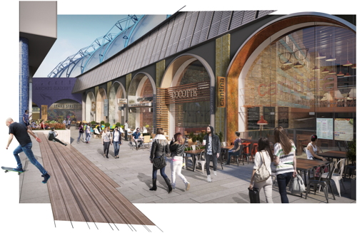 Waterloo's Leake Street to become 'restaurant & bar destination'
