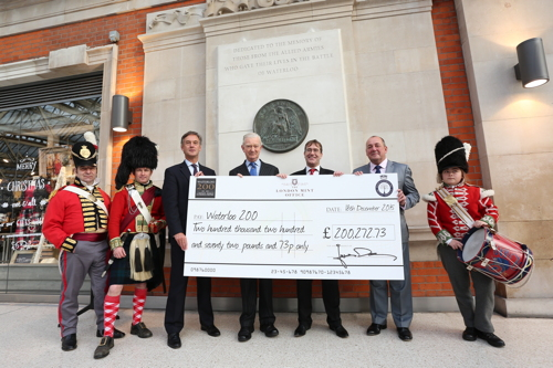 Battle of Waterloo commemorative medals raise £200,000 for charity