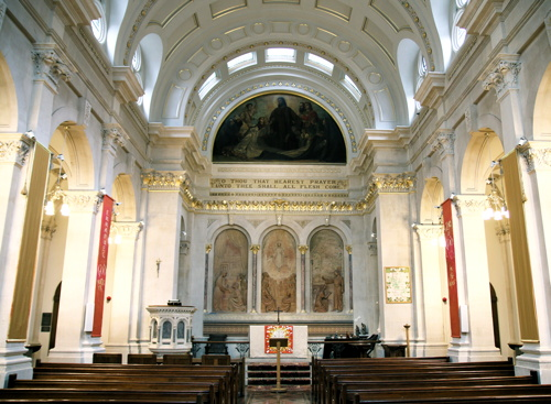 St Thomas' Hospital chapel restored