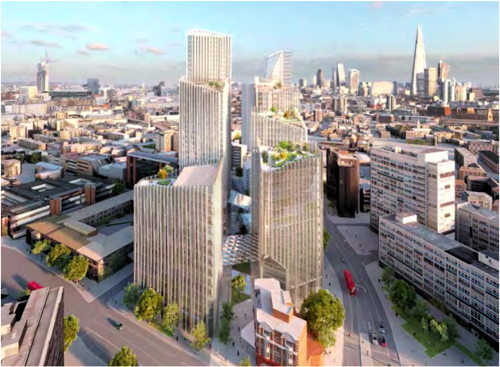 Elephant & Castle tower 'will damage views from Hyde Park'