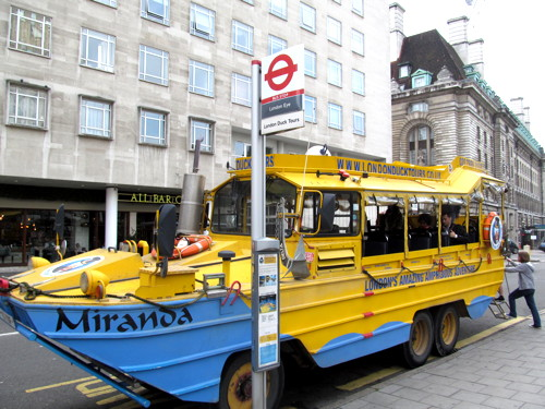 Tory MP blasts 'noisy and polluting' London Duck Tours
